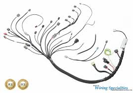 wiring specialties s13 sr20det datsun wiring harness irace auto sports