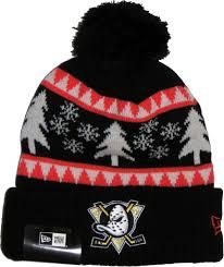 Mighty Ducks Flag Anaheim Mighty Ducks New Era Nfl Team Snow Pine Bobble Hat