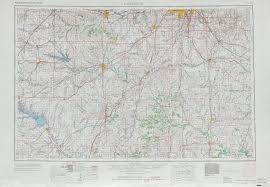 Map Of Ks Lawrence Topographic Maps Ks Mo Usgs Topo Quad 38094a1 At 1