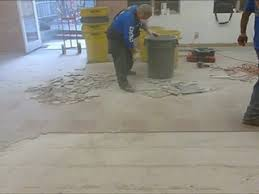how to remove ceramic floor tile in 3 easy steps dailymotion