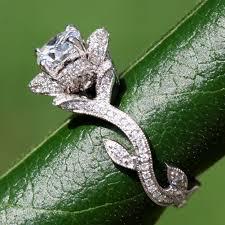 engagement rings flower design 704796 4346 beautiful engagement by beautifulpetra