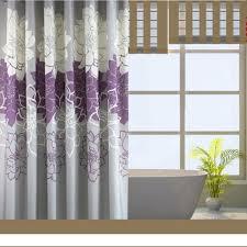 Bathroom With Shower Curtains Ideas Bathroom Black White Silk Shower Curtain Beautiful Tile Shower