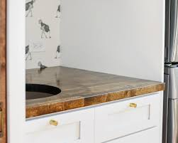 how we measured cut and installed our butcher block countertop