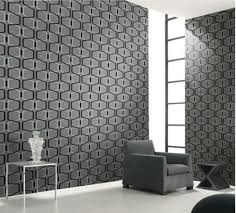 Wallpaper Designs For Walls by Aliexpress Com Buy Designer Grey 3d Geometric Modern Velvet