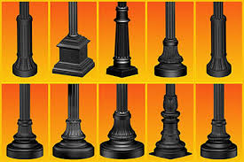 decorative street light poles aecinfo com news poles niland series