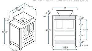 standard mirror sizes for bathrooms standard bathroom vanity depth regarding cabinet modern on for