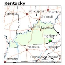 kentucky map harlan best places to live in harlan kentucky