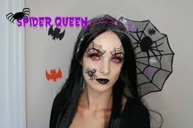 spider queen halloween tutorial 2015 youtube