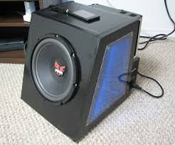 best home theater subwoofer 2011 converted car subwoofer for in home use with ipod home
