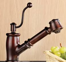 rustic kitchen faucets vintage style kitchen faucet from mico the seashore faucet line