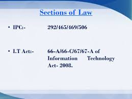 sections in law investigation into facebook related crime ppt video online download