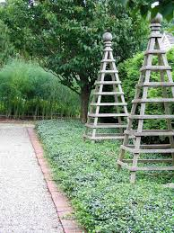 would be great for morning glories or clematis to climb on