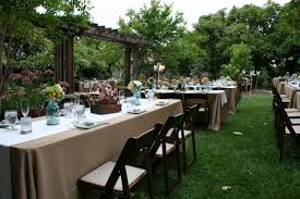 How To Plan Your Backyard How To Plan A Backyard Wedding Amys Office