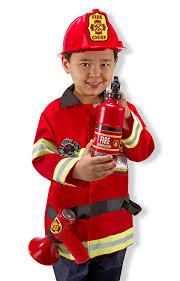fire costume halloween amazon com melissa u0026 doug fire chief role play costume dress up