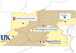 Map Of Ohio State University by Accn Appalachia Community Cancer Network