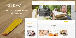 home renovation websites renovate construction renovation template by quanticalabs