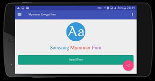 myanmar font apk free myanmar zawgyi font apk free tools app for android