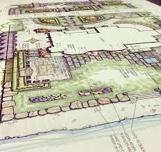 Hand Rendered Floor Plan Hand Renderings Of Landscape Design Vidosh North