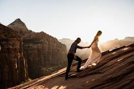 photographers in las vegas las vegas elopement zion national park wedding portraits utah