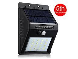 solar light wall 16 led upgraded version solar light victsing皰 bright 16 led