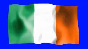 Irrland Flag Ireland Waving Flag Green Screen Animation Youtube