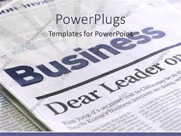 powerpoint template a beautiful depiction of a business page of a