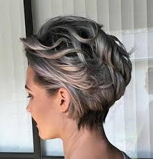 what enhances grey hair round the face spectacular short grey hair pics love this hair hair cuts