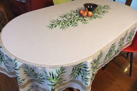 cotton and coated tablecloths from provence