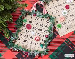 bingo cards to play or hang on your tree