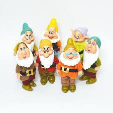 7pcs set gift toys snow white 12cm 7 seven dwarfs