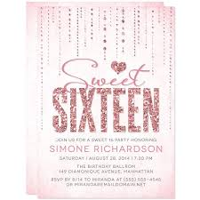 sweet 16 invitations sweet 16 invitations glitter look gems the spotted olive