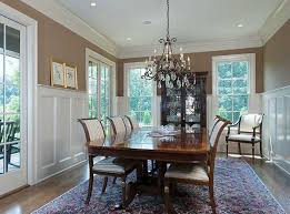 before and after modern craftsman dining room beautiful