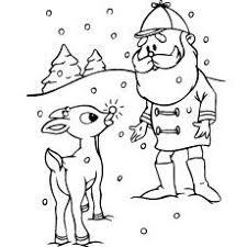 rudolph red nosed reindeer clipart sandydigitalart etsy