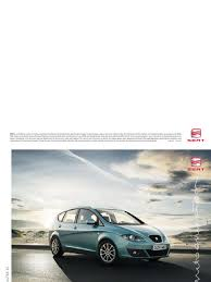 seat altea xl 2009 brochure headlamp airbag