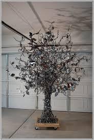 outdoor metal tree sculpture home design ideas