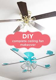 spray paint ceiling fan diy complete ceiling fan makeover yarns and buttons