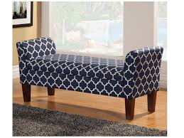 blue storage bench american online deals