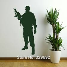 popular soldiers stickers home decor buy cheap soldiers stickers