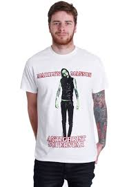 marilyn manson anti christ superstar white t shirt official