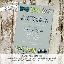 bow tie baby shower invitations 30 images of bow tie baby shower template adornpixels
