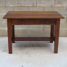 Arts And Crafts Dining Room Set by American Antique Arts And Crafts Desk Antique Craftsman Desk
