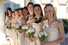 bridesmaid statement necklaces make a statement random thoughts from ahem mrs