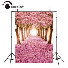 wedding backdrop personalized aliexpress buy allenjoy background photography pink flower