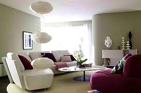 purple and grey living room home design ideas