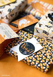 printable halloween gift tags gift wrap lia griffith