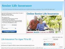 life insurance for 76 year old male elderly life insurance