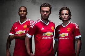 Baju M U Adidas manchester united kit adidas reveal new home pictures