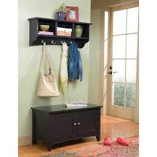 mudroom hall rack bench foyer shoe rack small hallway bench with