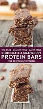 diy protein bars no bake chocolate cranberry protein bars the bewitchin u0027 kitchen