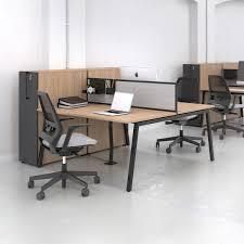 mettre les favoris sur le bureau bureau pour open space en acier à revêtement par poudre en